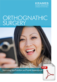 Download a brochure on Orthognathic Surgery